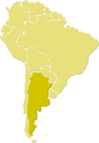 South America Hunting Areas