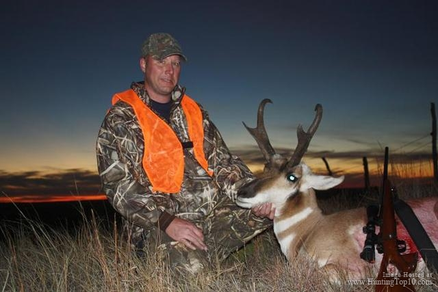 Rifle Antelope Hunt Montana.