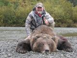 Brown Bear hunting Alaska Dave Gentile 2011