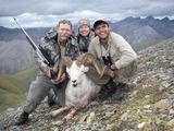 Dall Sheep Hunting Alaska.