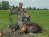 Hog hunting family style