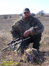 No Mercy Hunting Services, Coyote hunting in Oklahoma, Oklahoma Hunting Outfitter.