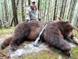 Kodiak Bear Hunting Alaska.