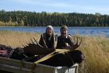 Happy Moose Hunters