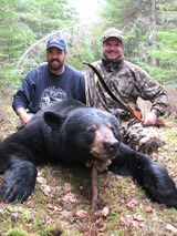 Quebec Black Bear Hunting Air Melancon Outfitters.
