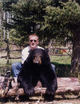 Black Bear Hunting Sakatchewan.