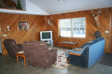 Deer hunting lodge