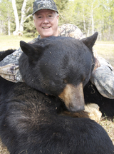 saskatchewan black bear, Whitetail Deer