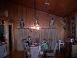 Dining Room At Hunting Lodge