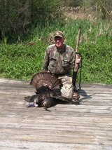 Mr. Ralph with his first SC gobbler 2012