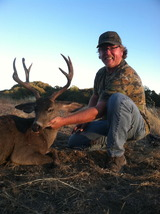 A zone blacktail buck taken with us.