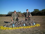 Ron and Woody Dove Hunt