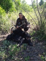 Bow Huntin Wild Hog in Florida.