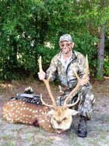 Florida Axis Deer Hunting, Exotic Deer hunts Florida.