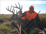 Trophy whitetail hunts