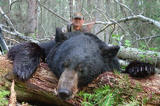 Black Bear hunting Alberta Canada