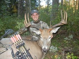 Deer Hunting in Alberta Canada 2012