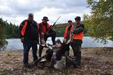 Quebec Moose Hunting at Mekoos Outfitters.