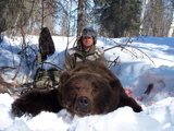 Alaska Bear Hunting, Brown Bear Hunts Alaska Experienced Bear Hunting Guide.