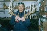 Huge Buck With Drop Tine