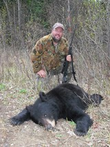 Rifle Bear Hunt Alberta Canada