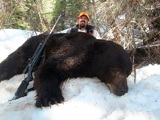 Black Bear Hunting Wyoming Savery Creek Outftters.