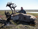 Caribou hunting canada