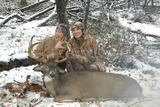 Engaged And A Trophy Buck All In The Same Day