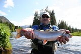 Dolly Varden Fishing in Alaska.