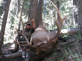 1st Day Archery Bull With Cody Carr