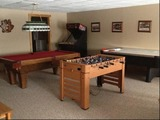 Hunting Lodge Game Room.