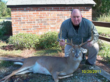 Jeff Shiver Deer Hunting in South Carolina.