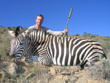 Zebra Hunting in South Africa.