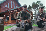 Wisconsin Deer Hunting Lodge.