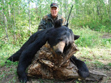 Bear Hunting Alberta Canada with Professional Bear Hunting Outfitters.