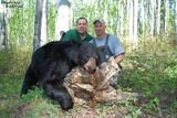 Black Bear Hunts at Alberta Bush Adventures.