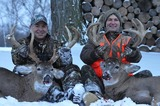 Ohio Whitetail Deer Hunts in Winter at Premier Whitetail Deer Retreat.