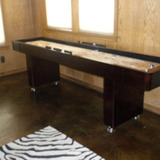 Texas Hunting Shuffle Board Table