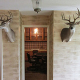 Deer Hunting Lodge in Texas Flying B ranch.