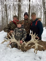 Allegheny Trophy Whitetails, Deer Hunt PA