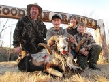 Family hunt at Goodman Ranch.