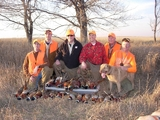 Pheasant Hunting Group at Maple River Pheasant Hunts.