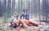 Hawkrock Wilderness Adventures , Color Phased Bear Hunts in Saskatchewan.