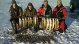 Platte Creek Lodge, Walleye on the ice