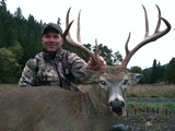 Fisher Outfitters, Columbian White Tailed Deer Hunting in Oregon.