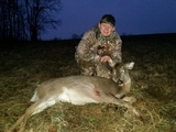 Youth first deer