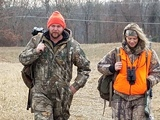Brittney Glaze and Cliff Crumpton  on Destination Whitetail