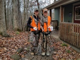 Brittney Glaze and Niki Tilley at Pacconis Trophy Whitetails of Southern Ohio