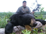 Bow Hunting for Black Bear Island Safaris.