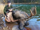 Moose Hunting British Columbia.